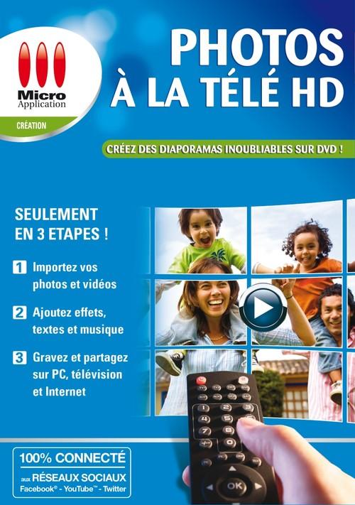 Photos à la Télé HD (v. téléchargeable)