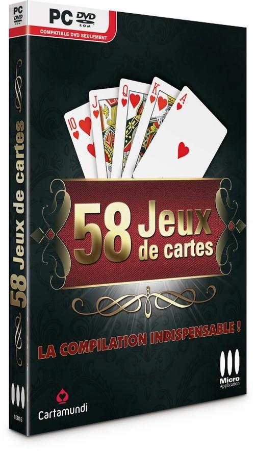 58 JEUX DE CARTES (téléchargement)