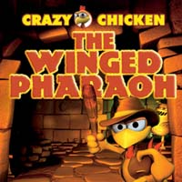 Crazy Chicken The Winged Pharaoh