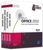 Microsoft Office 2010 Coffret de 4 livres : Word, Excel, PowerPoint et Outlook