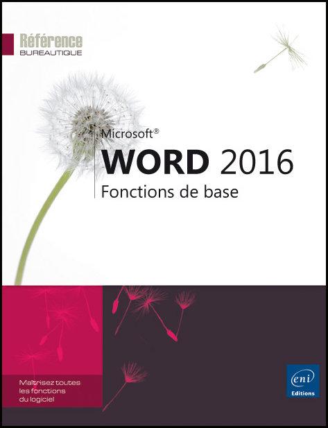 Word 2016 Fonctions de base