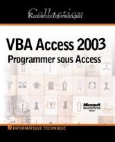VBA Access 2003 Programmer sous Access