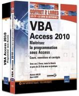VBA Access 2010 Coffret de 2 livres : Maîtrisez la programmation sous Access