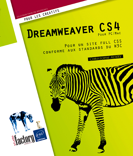 Dreamweaver CS4 pour PC/Mac (Studio Factory)