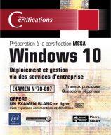 Windows 10 - Déploiement et gestion via des services d'entreprise