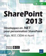 SharePoint 2013 Développez en .NET