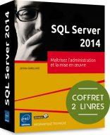 SQL Server 2014 - coffret 2 livres